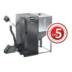 Pelleti-puukatel Twin Bio 24 kW